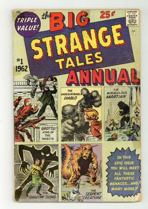 Strange Tales Annual #1 GD 2.0 1962