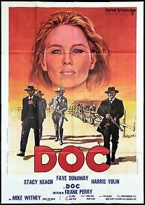 DOC-MANIFESTO-CINEMA-FILM-FAYE-DUNAWAY-WESTERN-COWBOYS-GUN-1971-MOVIE-POSTER-4F