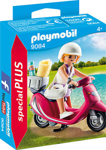 PLAYMOBIL® special PLUS  9084   Strand-Girl mit Roller, NEU & OVP