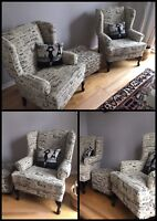 ⭐️Reupholster / Upholster Furniture - Chairs - Sofas ⭐️