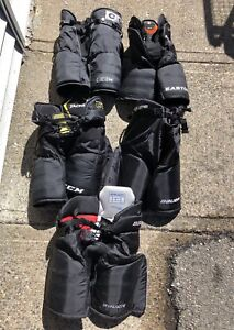 Various Pieces of Junior Size Hockey Gear.....