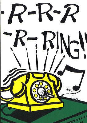 Kunstpostkarte Girl with Tear I Roy Lichtenstein
