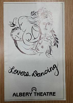 Albery Theatre: Paul Eddington Jane Carr Colin Blakely in  LOVERS DANCING