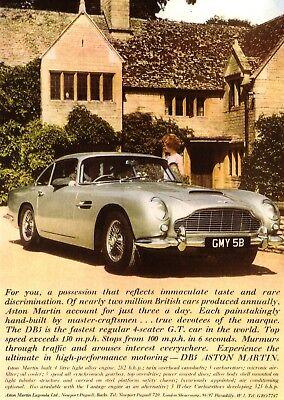 Aston Martin DB5 1964 Car New Jumbo Fridge Magnet