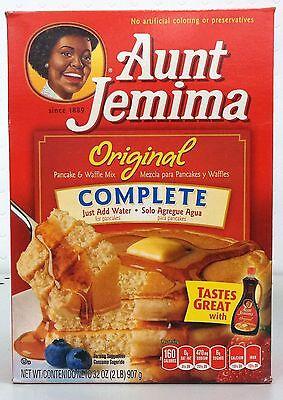 Aunt Jemima Original Pancake Mix - Aunt Jemima Original Complete Pancake & Waffle Mix 32 oz