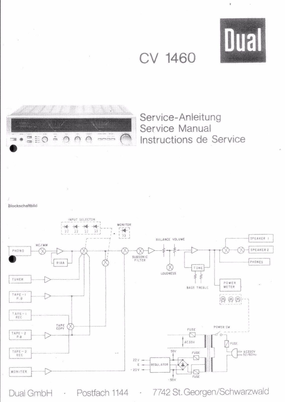 Dual Service Manual für CV 5650  Copy