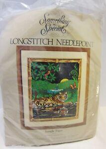 Something Special Jungle Tiger Longstitch Needlepoint Kit Candamar Designs 16x20