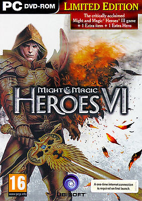 Heroes of M&M Might & Magic VI 6 LIMITED  with Heroes 3 III Complete, Metal (Heroes Of Might And Magic 3 Complete)