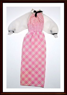 Dress - Exc.  Cond. - Vintage Clothes  - For Barbie Doll - Lot 17