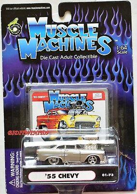 Muskel Maschinen '55 Chevy 01-73 W+