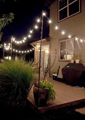 Lumineo LED Warm White Outdoor/Indoor Party Lights EXTENSION Set Edison Style