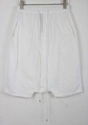 ARMY OF ME Men SMALL S / S 2019 Thin Drop Crotch Drawstring Waist Shorts 6157*