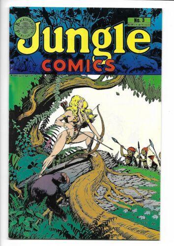 Jungle Comics #3 Blackthorne Comics 1988 VF/NM 9.0 Sheena cover.