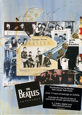 The Beatles Anthology 5 DVD Gift Box Set Brand New Free Shipping USA