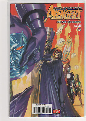 Avengers #2 Mark Waid Alex Ross Spiderman Iron Man Thor Falcon Vision - Avengers 2 Falcon