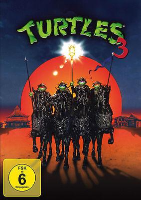 Turtles 3 - Ninja Turtles (Teenage Mutant) DVD NEU + OVP! (Teenage Mutant Ninja Turtles 3)