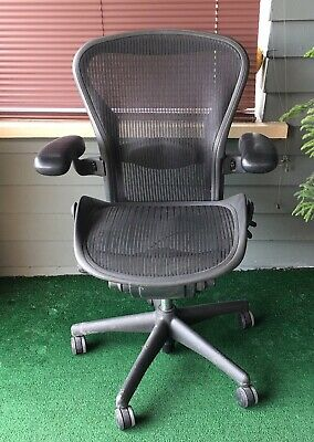 Herman Miller Aeron Chair Size B Eames Era