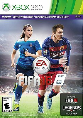 FIFA 16 Xbox 360 Soccer Game Brand New and Factory Sealed