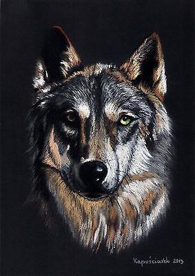 WOLF   * Kunstdruck  auf  Leinwand  * CANVAS # 3