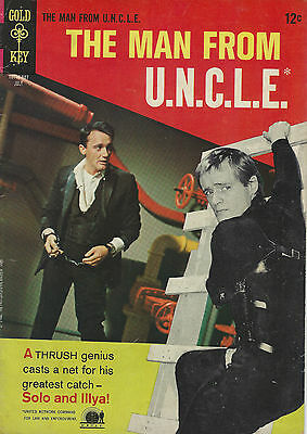 The Man From Uncle No 7 1966 Gold Key Comics