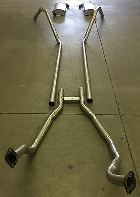 1959-1960 FORD THUNDERBIRD DUAL EXHAUST, 304 STAINLESS, 352 ENGINES ONLY