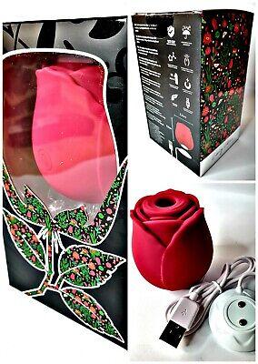 MIA Rosa Suctioner Clitoris Energy Wave Exclusivo Vibrator Rojo Saugvibrator