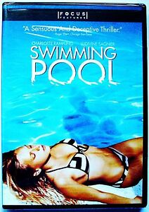 Swimming Pool Charlotte Rampling Ludivine Sagnier Charles Dance Brand New 025192378522 Ebay