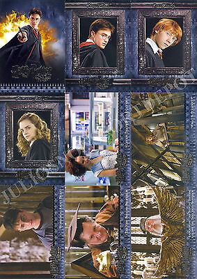 HARRY POTTER AND THE HALF BLOOD PRINCE MOVIE 2009 ARTBOX BASE CARD SET OF 90