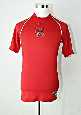 cc85bcedc ARSENAL Soccer   Football Jersey Club England Red NIKE FIT DRY~ Sz. S (4 -  6)