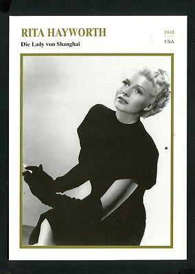 Starkarte    Rita Hayworth
