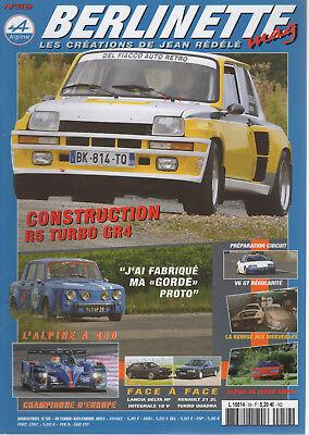 BERLINETTE MAG 59 R5 TURBO R21 2L TURBO QUADRA DELTA HF INTEGRALE 16V ALPINE V6 d'occasion  Expédié en Belgium