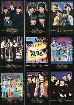 THE BEATLES 1996 SPORTS TIME COMPLETE BASE CARD SET OF 100 MU