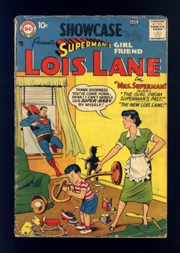 Showcase #9 VG Superman