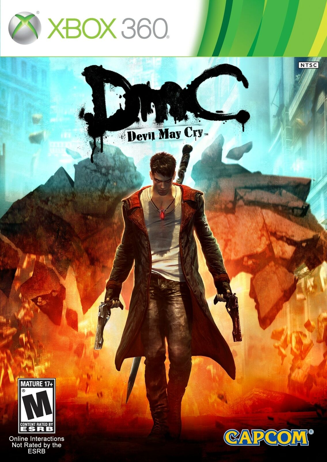 Dmc Devil May Cry Xbox 360 Game - $5.47
