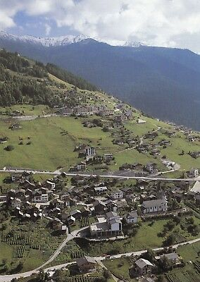 Alte Postkarte - La station de Veysonnaz