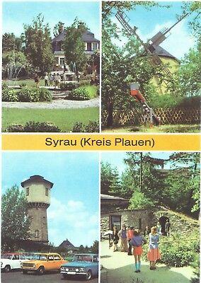 AK Syrau (Vogtland) Kreis Plauen, Drachenhöhle, Windmühle