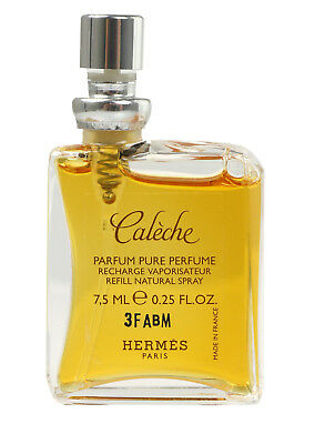 Pure Perfume Refill (HERMÈS Paris CALÈCHE Pure Parfum Pure Perfume Recharge Refill 7,5 ml )