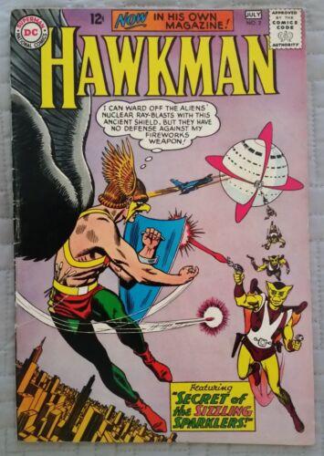 HAWKMAN #2~ORIGINAL SILVER AGE COMIC