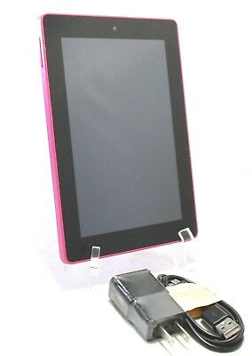 AMAZON KINDLE FIRE HD SQ46CW 8GB 4Th Generation   Pink