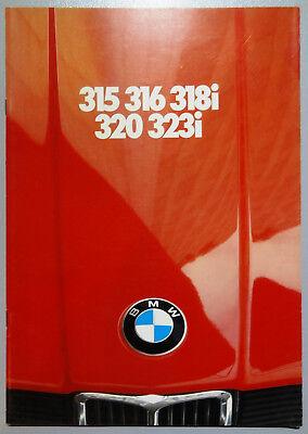 V06761 BMW SERIE 3 (E21) - 315 316 318i 320 323i