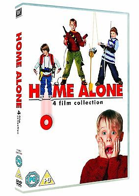 HOME ALONE - Complete Collection Quadrilogy Part 1 2 3 4 Boxset New Region 2 DVD (Home Alone 1 2 3 4)