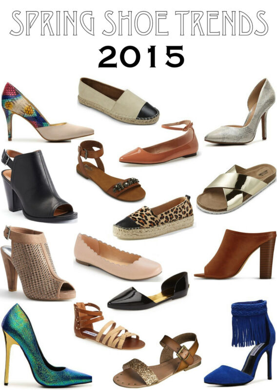 Step Into Spring! The Hottest Shoes For Spring/Summer 2015 ...