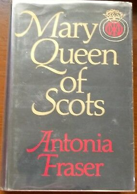 Mary Queen Of Scots Antonia Fraser Signed Delacorte First American Edition Hb
