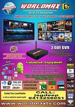WORLDMAX(HD)IPTV buy driect from WA reseller!!No yearly fees Morley Bayswater Area Preview