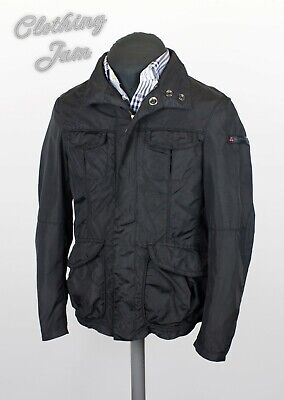 Used, Men's Peuterey Balbo Black Casual Jacket in Style M-65 Size 48 Polyamide for sale  Shipping to Nigeria