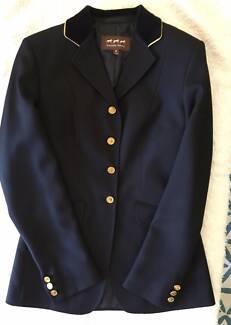 Windsor Navy Riding Jacket -Ladies Size 8