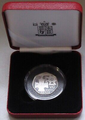 The Royal Mint 1856-2006 The Victoria Cross Silver Proof 50p Fifty Pence Coin