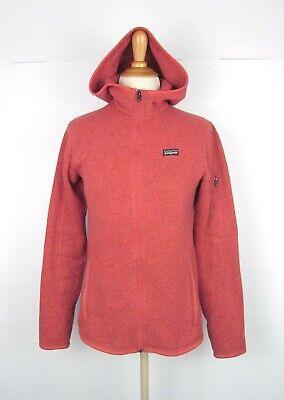Patagonia Better Sweater Hoodie Jacket S Heathered Orange