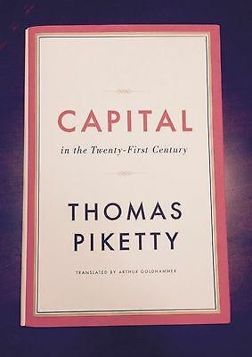 Capital In The Twenty First Century By Thomas Piketty  Signed
