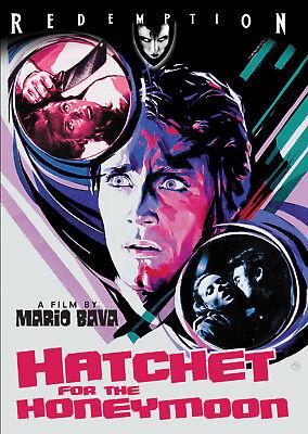 HATCHET FOR THE HONEYMOON - DVD - Giallo - Euro Horror - Uncut - Mario Bava